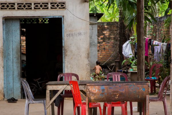 7. cambodian home with baby